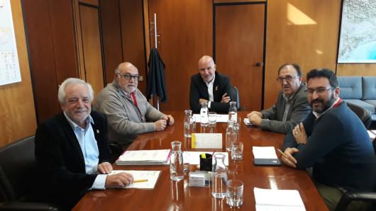 El consejo del cava se compromete con el Consell a bucar cauces para aumentar la participación de Requena en la toma de decisiones sobre su futuro