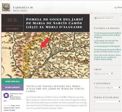 https://mariatoldra.wordpress.com/2017/07/30/pomell-de-goigs-del-jardi-de-maria-de-narcis-camos-1657-el-merli-dalguaire/