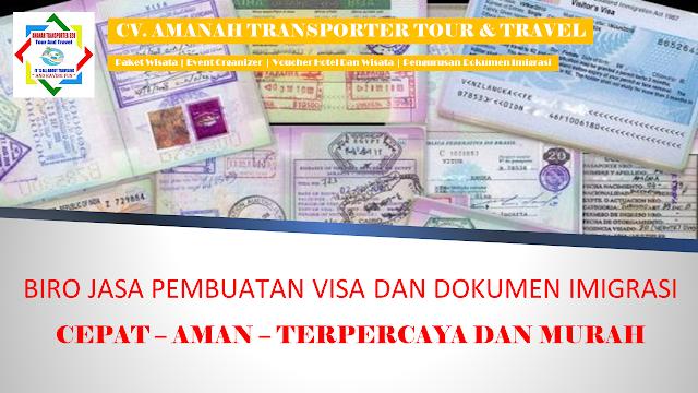 Biro Jasa Pembuatan VISA
