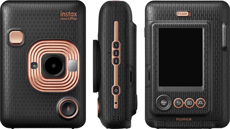 Органы управления Fujifilm Instax Mini LiPlay