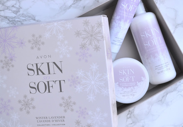 Avon Skin So Soft Winter Lavender Collection