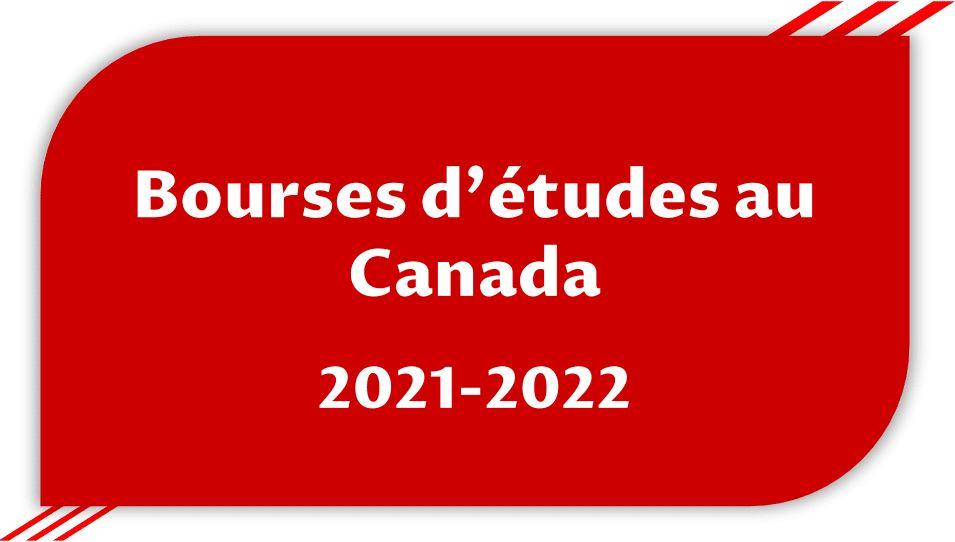 Liste de toutes les bourses d'études entièrement financées au Canada 2021-2022