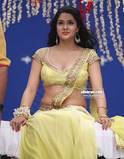 Sakshi Chodary in Yellow Transparent Sareei Choli Spicy Pics 09 .xyz.jpg