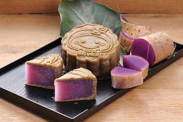 Purple Chinese Yam (Vegan)