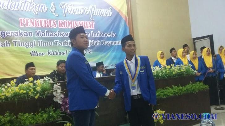Pmii Stita Gelar Acara Pelantikan Dan Temu Alumni Di Aula Bapedda Sumenep
