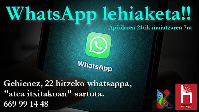 WhatsAppen II. Lehiaketa
