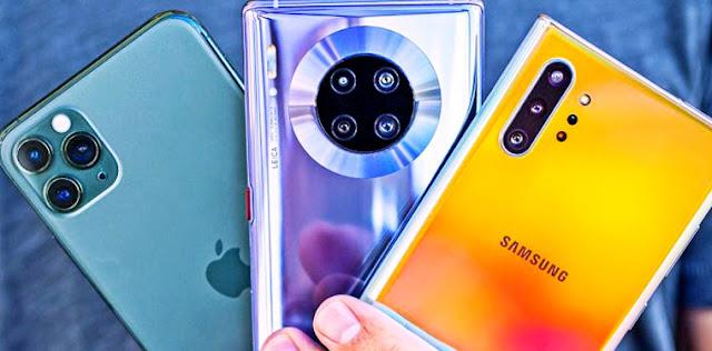 شركة ابل تتفوق على شركة سامسونج وهواوي بفضل مبيعات ايفون 11