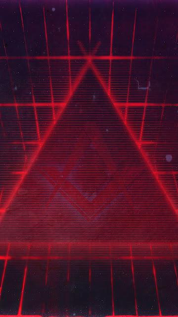 Plano de Fundo Abstrato Triangulo hd