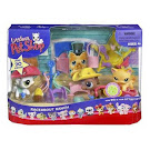 Littlest Pet Shop 3-pack Scenery Generation 1 Pets Pets