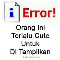 DP BBM Lucu Error