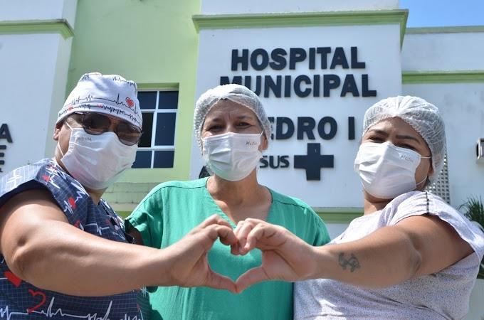 Covid-19: Complexo Hospitalar Municipal Pedro I alcança 3 mil altas de pacientes