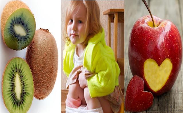 12 aliments pour soulager la constipation chez les enfants