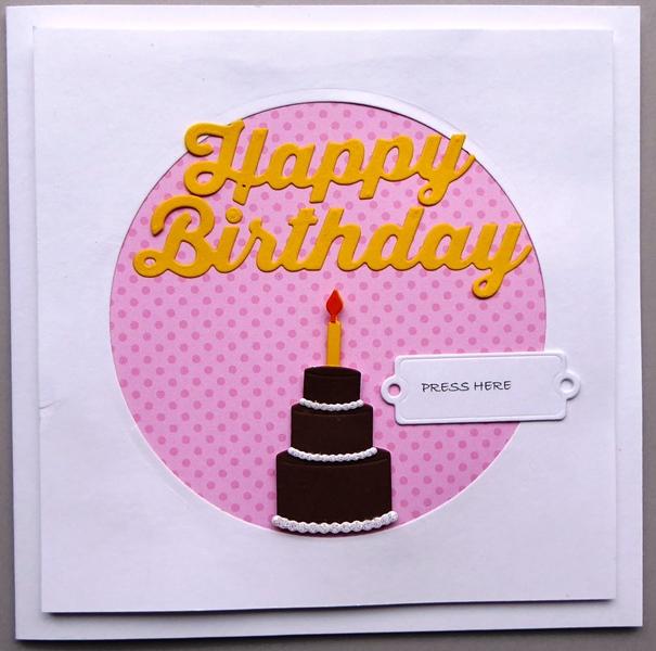 Chibitronics Light Up Birthday Card