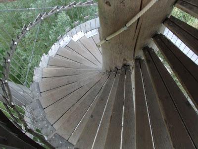 scala a chiocciola-scala-legno