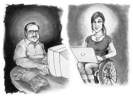 Say NO! to Facebook Predators: Disability Trolls