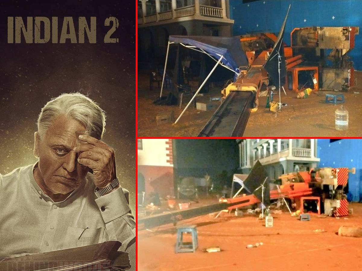 Indian 2 Movie Accident