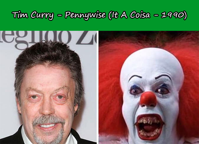 Tim Curry - Pennywise (It A Coisa - 1990)