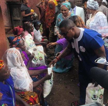 kogi first lady bags of rice