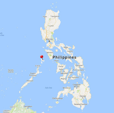 coron philippines location