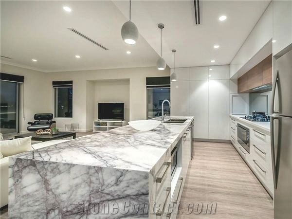 new york marble kitchen bench top p b
