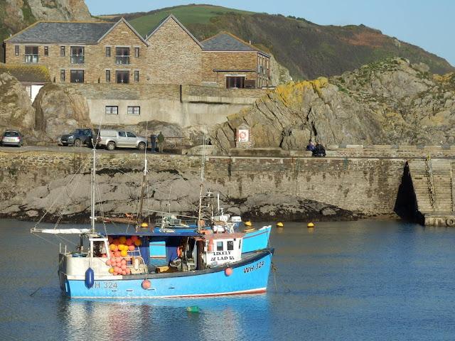 Fishing boat at Mevagissey, Cornwall