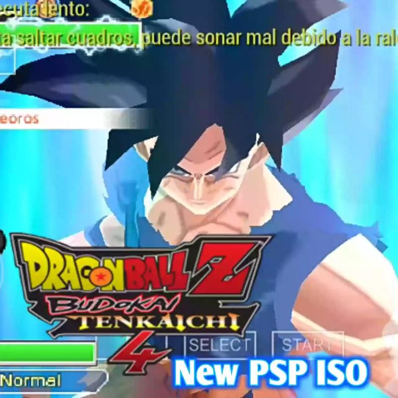 Dragon Ball Z Android Game Budokai Tenkaichi 4 PSP ISO Download