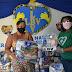 LBV entrega doações de alimento, kits de limpeza, higiene e fraldas às famílias de Lauro de Freitas
