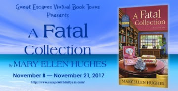 Bea's Book Book, Review, Giveaway, A Fatal Collection, Mary Ellen Hughes