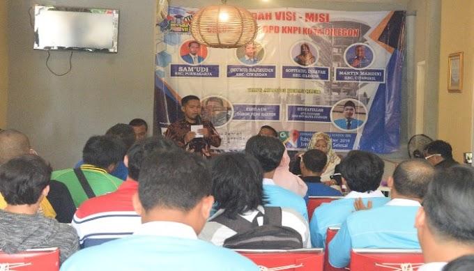Menuju Musda VII, KNPI Bedah Visi Misi Calon Ketua DPD KNPI Cilegon