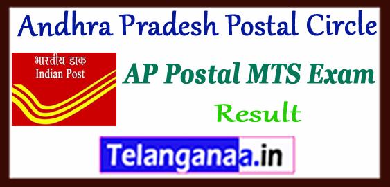 Andhra Pradesh Postal Circle Multi Tasking Staff Result 2017 Cutoff