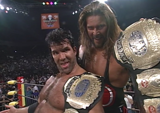 WCW HALLOWEEN HAVOC 96 REVIEW: Scott Hall and Kevin Nash won the WCW tag team titles