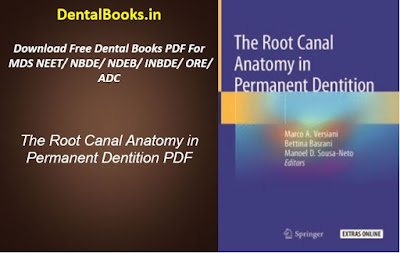 The Root Canal Anatomy in Permanent Dentition PDF