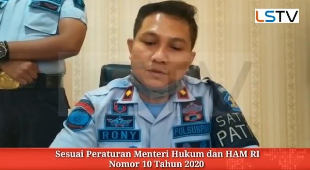 Rutan Kelas 1 Bandar Lampung Bebaskan 449 Napi
