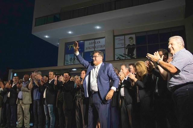 Ευχαριστήριο μήνυμα του υποψηφίου δημάρχου Θερμαϊκού Γιάννη Μαυρομάτη