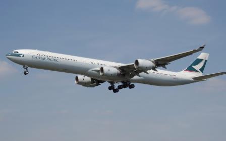 Pesawat Airbus A340-600 pesawat komersil terbesar di dunia