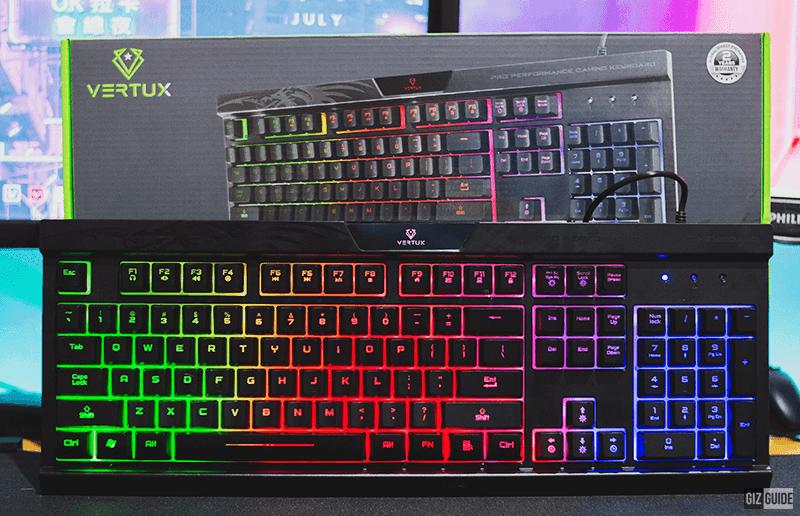 Vertux Amber Pro Performance Gaming Keyboard