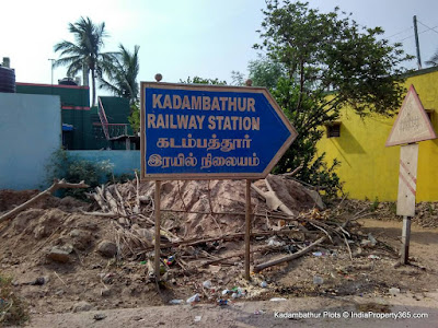Kadambathur Plots - Kadambathur Railway Station Road