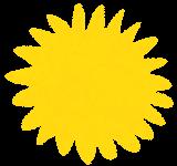 フキダシのイラスト「花型」