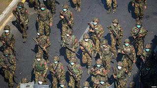 PBB Serukan Setop Penjualan Senjata kepada Myanmar