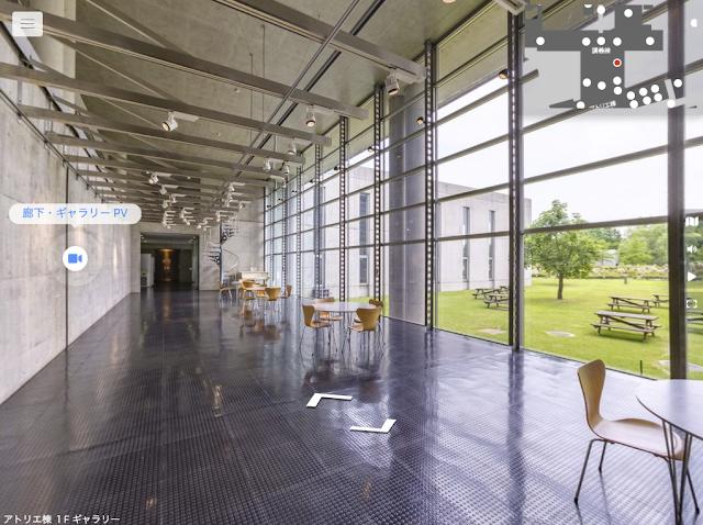 VRで大学のバーチャルキャンパスを制作しました