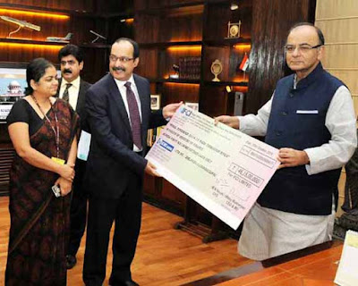 IFCI ceo Malay Mukherjee, Arun Jaitley, Industrial Finance Corporation of India, Union Finance Minister Arun Jaitley, Development Finance Institution, CEGSSC