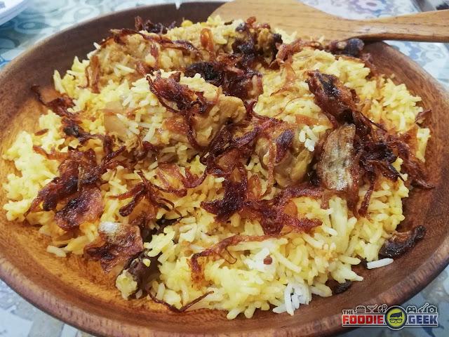 Chicken biryani, Zaika House of Kebabs and Shawarma, Marikina