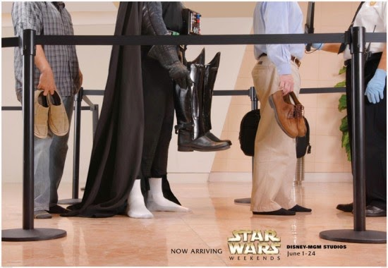 Poster set for the Star Wars Weekends