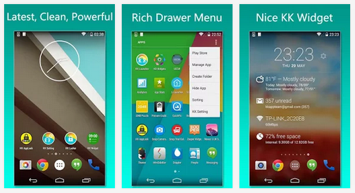 KK Launcher Prime android