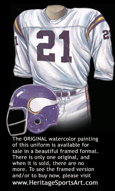 low priced 4fe2b dc150 Minnesota Vikings Uniform and Team History | Heritage ...