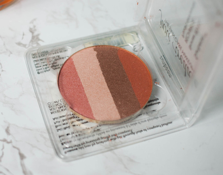 Jane Iredale Sunbeam blush/bronzer quad review