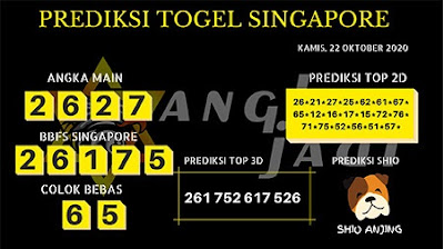 Kode syair Singapore Kamis 22 Oktober 2020 198