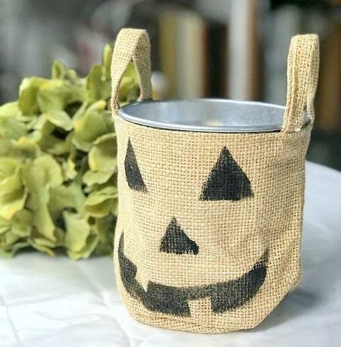 burlap pumpkin burlap bag