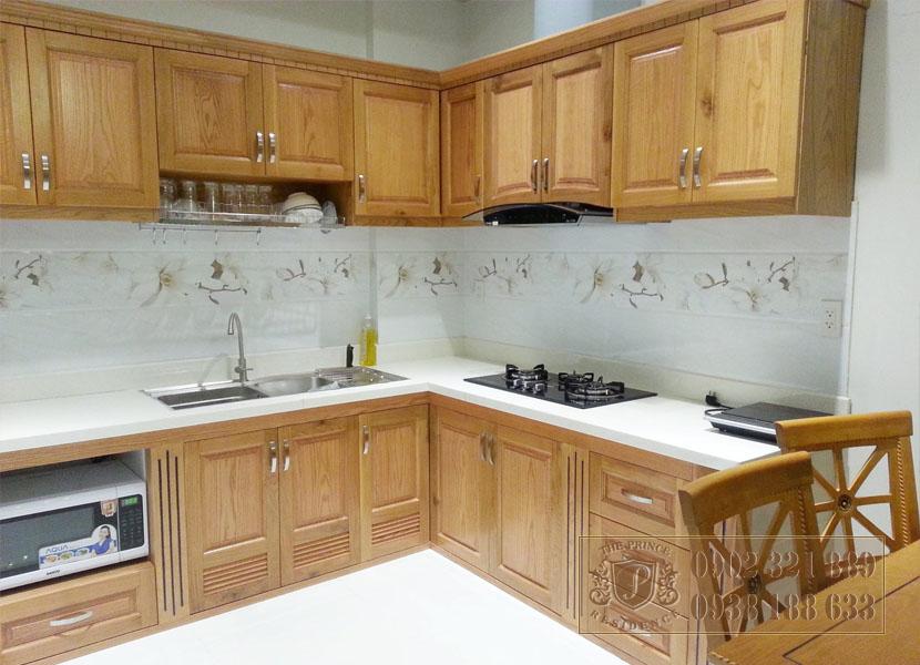 Bán căn hộ 1PN tại The Prince - tủ bếp