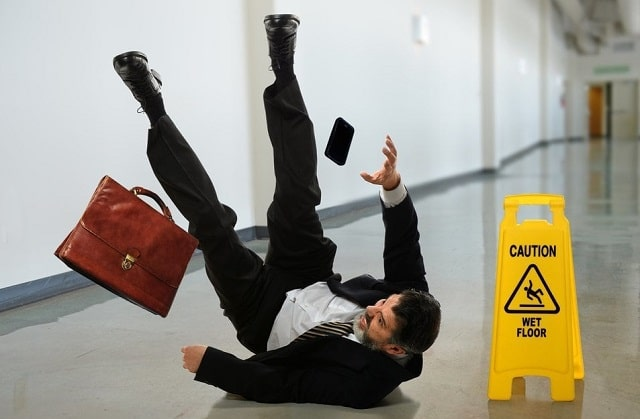 how to prevent slip and fall accidents workplace injuries